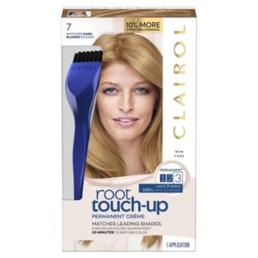 CLAIROL PERMANENT ROOT TOUCH-UP 7 MATCHES DARK BLONDE SHADES