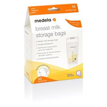 MEDELA BREASTMILK STORAGE BAGS (50 PACK)