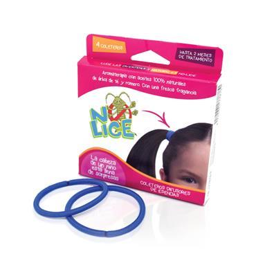 No Lice Hair Bands (Set of 4)