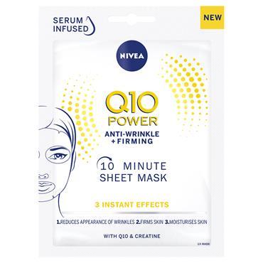 NIVEA Q10 POWER SHEET MASK