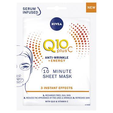 NIVEA Q10 PLUS C SHEET MASK