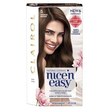 NICE N EASY PERMANENT 5 MEDIUM BROWN
