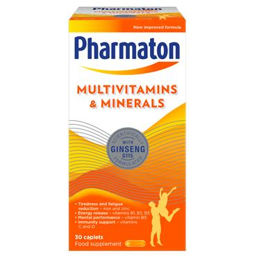 PHARMATON MULTIVITAMIN & MINERALS CAPSULES 30'S