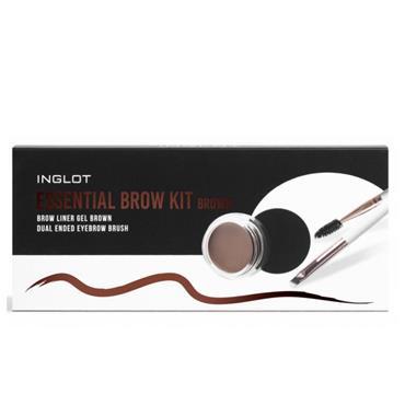 Inglot Essentials Brow Kit Brown