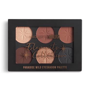 Inglot x Maura Paradise Wild Eyeshadow Palette Chocolate Cosmos