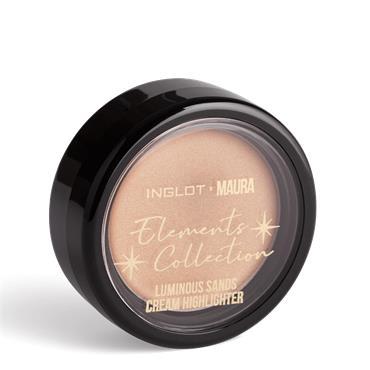 Inglot x Maura Luminous Sands Cream Highlight Golden Hours 201