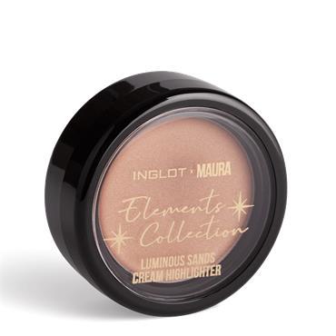 Inglot x Maura Luminous Sands Cream Highlight Golden Sands 202