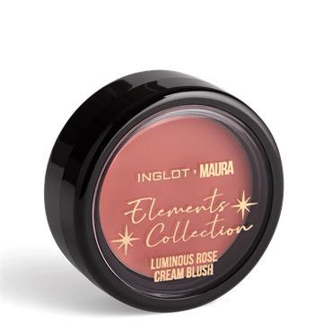 Inglot x Maura Luminous Rose Cream Blush Radiant Poppy 303