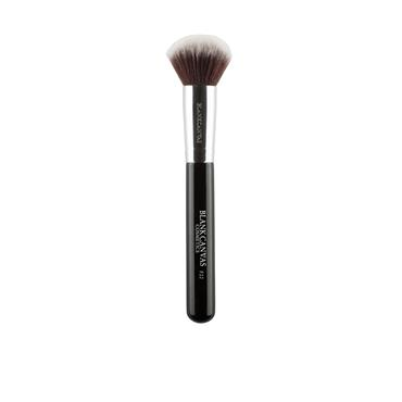 BLANK CANVAS F22 HD DOME FACE BRUSH BLACK HANDLE (HD FACE COLLECTION) BCF22BK