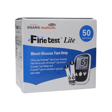 Finetest Lite Blood Glucose Strips (VARIOUS SIZES)
