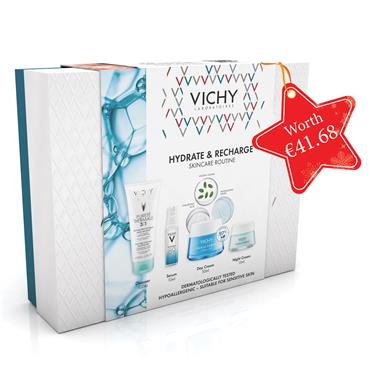 Vichy HYDRATE & RECHARGE SKINCARE ROUTINE Christmas Set