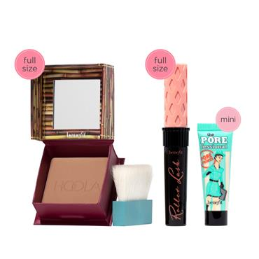 BENEFIT HOT FOR THE HOLIDAYS SET XMAS 2021