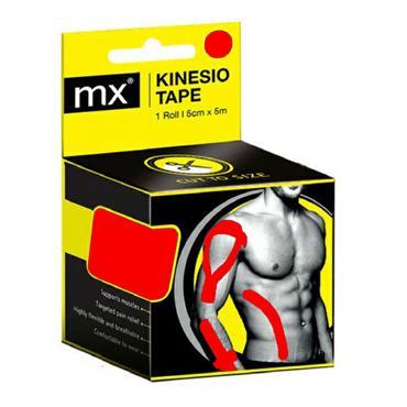MX kinesiology tape 5cm x 5m (Various Colours)