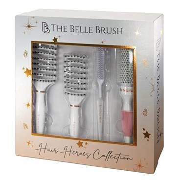 The Belle Brush Hair Heroes Collection