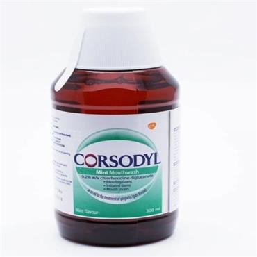 CORSODYL MOUTHWASH MINT
