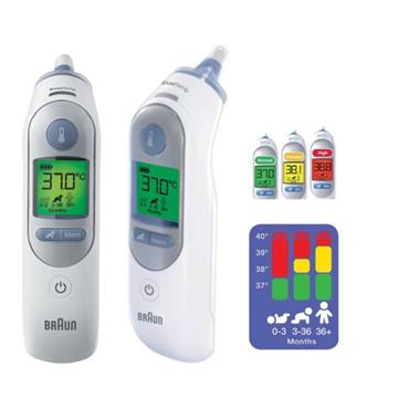 Braun ThermoScan 7 Ear thermometer with Age Precision, Code: IRT6520