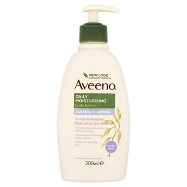 AVEENO DAILY MOIST LOTION LAVENDER 300ML