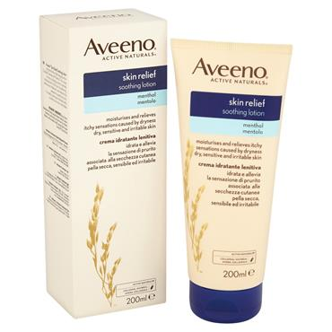 AVEENO SKIN RELIEF LOTION MENTHOL 200ML