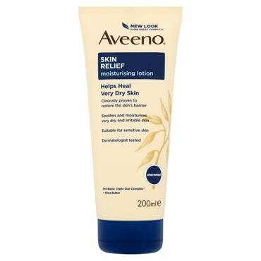 AVEENO SKIN RELIEF LOTION SHEA 200ML