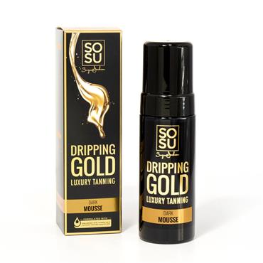 SOSU DRIPPING GOLD DARK TANNING MOUSSE 150ml