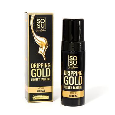SOSU DRIPPING GOLD MEDIUM TANNING MOUSSE 150ml