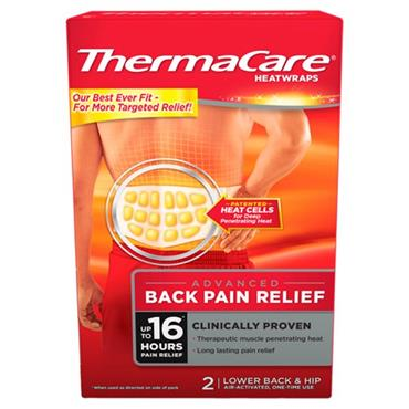 THERMACARE BACK 1 SIZE (2PACK)
