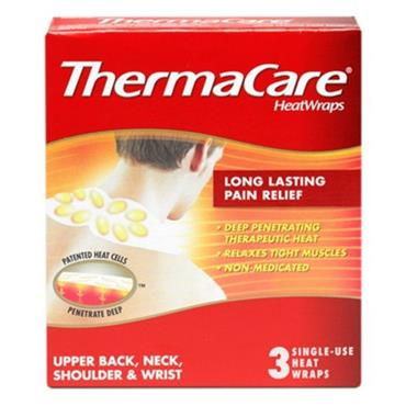 THERMACARE NECK/SHOULDER/WRIST (3 PACK)