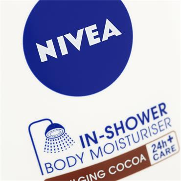 NIVEA IN SHOWER BODY MOISTURISER COCOA BUTTER