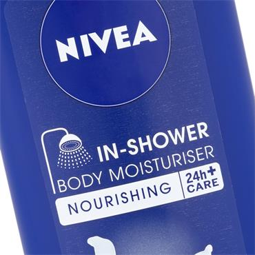 NIVEA IN SHOWER BODY MOISTURISER DRY SKIN