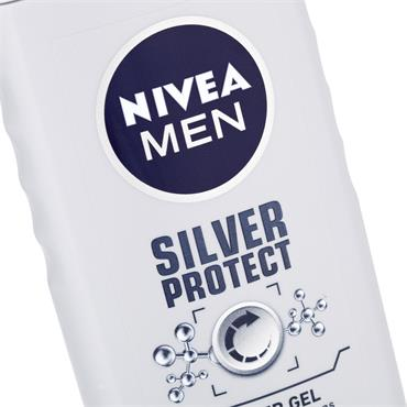 NIVEA MEN SHOWER GEL SILVER PROTECT