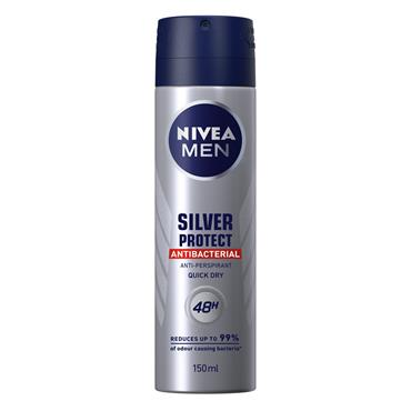 NIVEA MEN SILVER PROTECT DEODORANT SPRAY