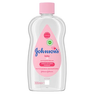 J&J BABY OIL 300ML