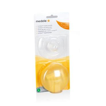 MEDELA CONTACT NIPPLE SHIELDS LARGE (PACK OF 2)