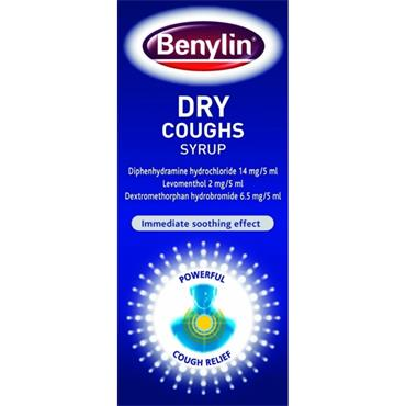 BENYLIN NONDROWSY DRY COUGHS SYRUP 125ML