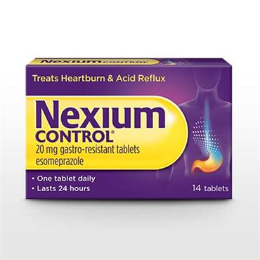 NEXIUM CONTROL 20MG GASTRO RESISTANT TABLETS 14 TABLETS