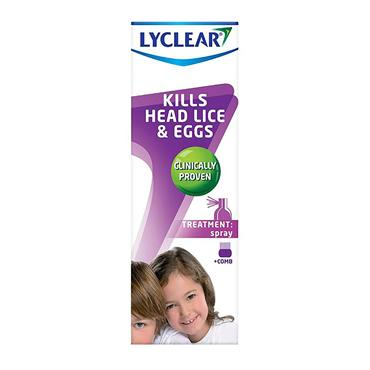 Lyclear Treatment Spray with comb 100ml