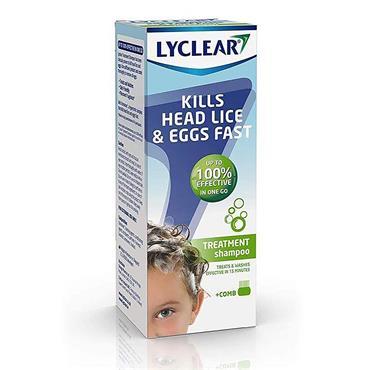 Lyclear Treatment Kids Head Lice Shampoo 200ml