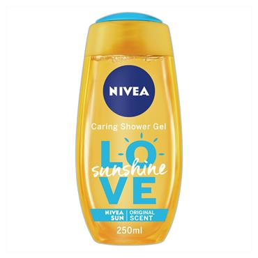 NIVEA LOVE SUNSHINE SHOWER GEL