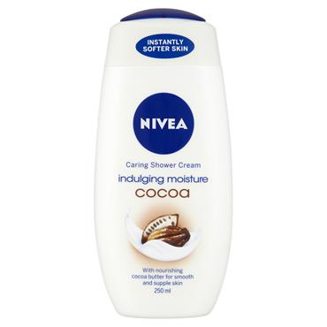 NIVEA SHOWER CREAM INDULGING MOISTURE COCOA