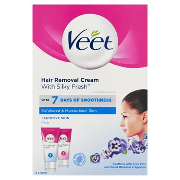 VEET FACE HAIR REMOVAL CREAM KIT