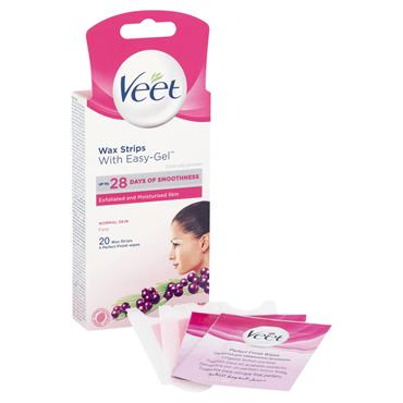 VEET MINI WAX STRIPS FACE 20S