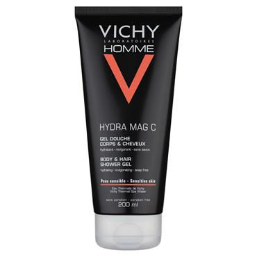 VICHY HOMME SHOWER GEL 200ML