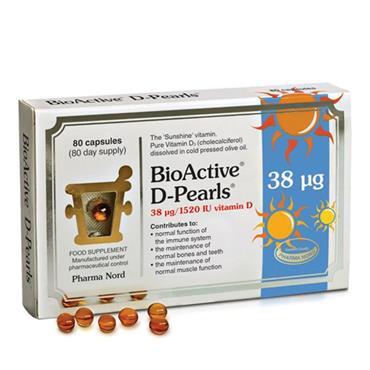 Pharma Nord BioActive Vitamin D-pearls 38UG