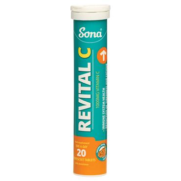 SONA REVITAL C EFFERVESCENT 1000MG 20PACK