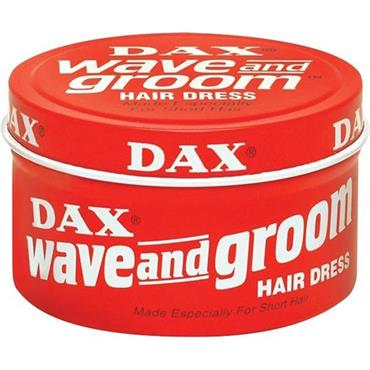 DAX WAX WAVE & GROOM RED 85G