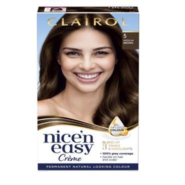 NICE N EASY MEDIUM BROWN 5