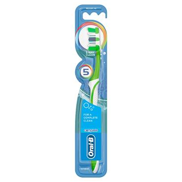 ORAL B COMPLETE BRUSH COMPLETE REGULAR  40  MED