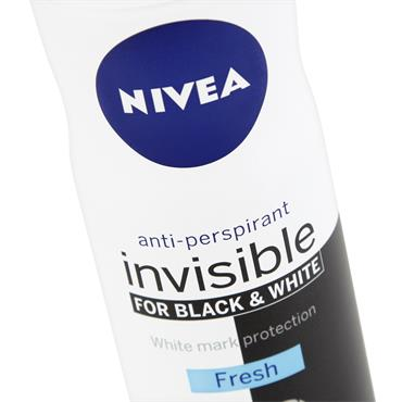 NIVEA DEODORANT INVISIBLE FOR BLACK & WHITE FRESH SPRAY FOR WOMEN