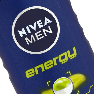 NIVEA MEN SHOWER GEL ENERGY
