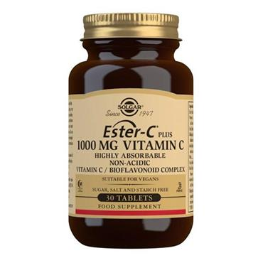 SOLGAR ESTER-C PLUS 1000 MG VITAMIN C 30'S